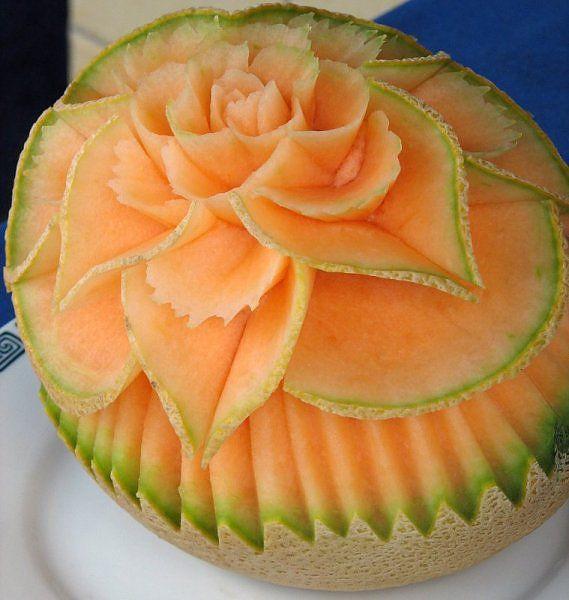 Ketika Melon ditangan seniman