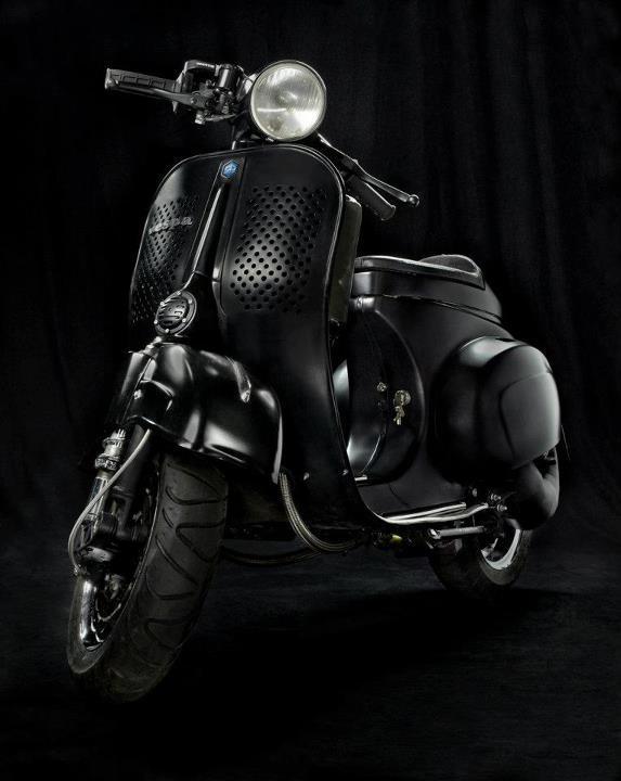 Vespa Racing, maskulin klasik!