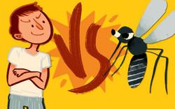 Tipe Orang Dalam Menghadapi Serangan Nyamuk