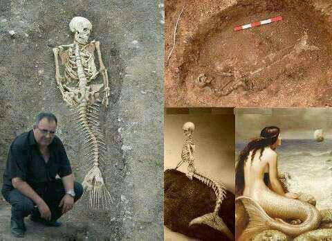 wowww, telah ditemukan kerangka manusia yang aneh.