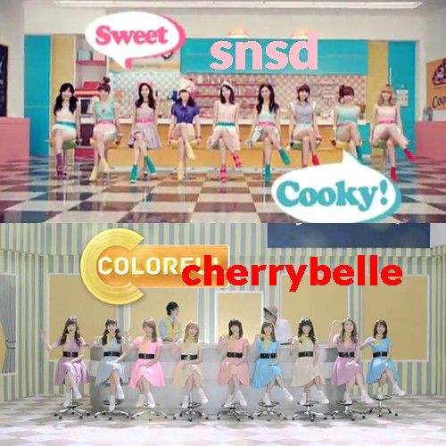 cerrybelle plagiat snsd AGAIN!!