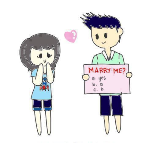 Marry me ? Jawaban yang paling di tunggu oleh kekasih :D
