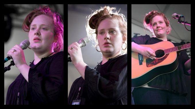 Adele , Selebriti tercantik se dunia ke Tiga setelah Katy Perry .. :) WOW ,, buat Dia !!