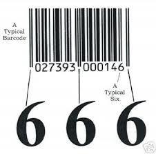 barcode biasa yang ditemui di setiap produk ternyata dibbuat oleh satanic