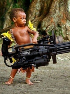 Jadi gini nih Rambo sewaktu kecilnya