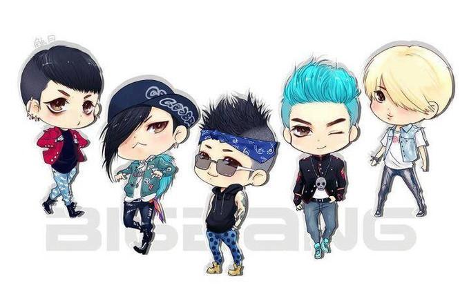 siapa yang VIP!? ada BIGBANG disini! siapa personil favorit kalian di BIGBANG ini? kalo aku.. TOP sama G-D. kamu? WOW-nya jangan lupa..