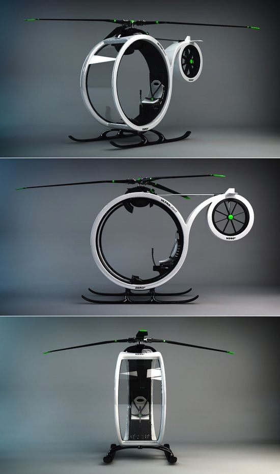 ZEROº Helicopter concept