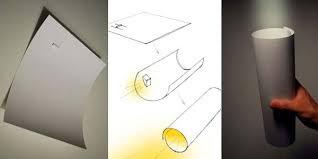 kertas yang dapat menyala seperti senter buatan jepang