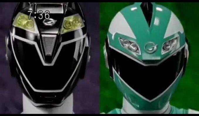Bagus yang mana sob nih Power Ranger GO-ONGER nya??