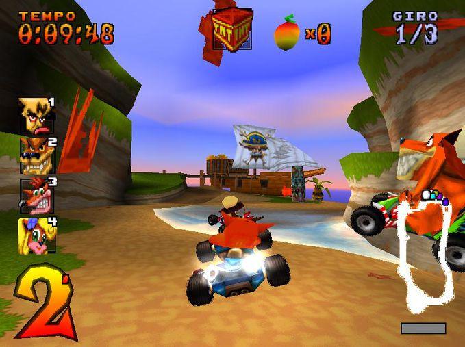 WOW 99% orang kangen dengan game yang satu ini (Crash Team Racing) yang kangen & yang pernah mainin WOW nya dong sobat PELKS ?