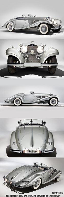1937 Mercedes-Benz 540 K Spezial Roadster