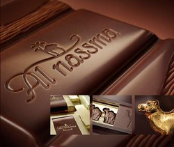 woww. . . kreasi coklat terbaik di dunia