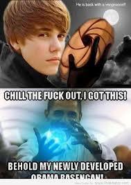 Obama VS JB KIra-kira siapa ya yang menang... WOW...