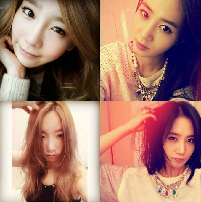 TY & YR the IG maniac share the same pose.. ã??ã??ã??ã??ã?? Yuri dan TaeYeon Posenya sama