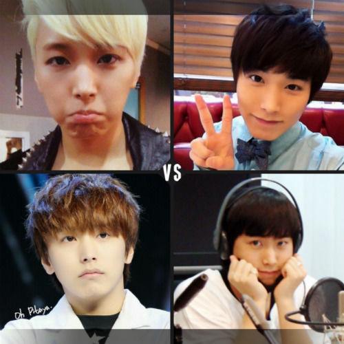 Sungmin oppa :) Mana yang lebih kyeopta? ^^