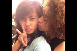Tival, Cewek yang Dicium Bastian Coboy Junior Hanya Bisa Nangis