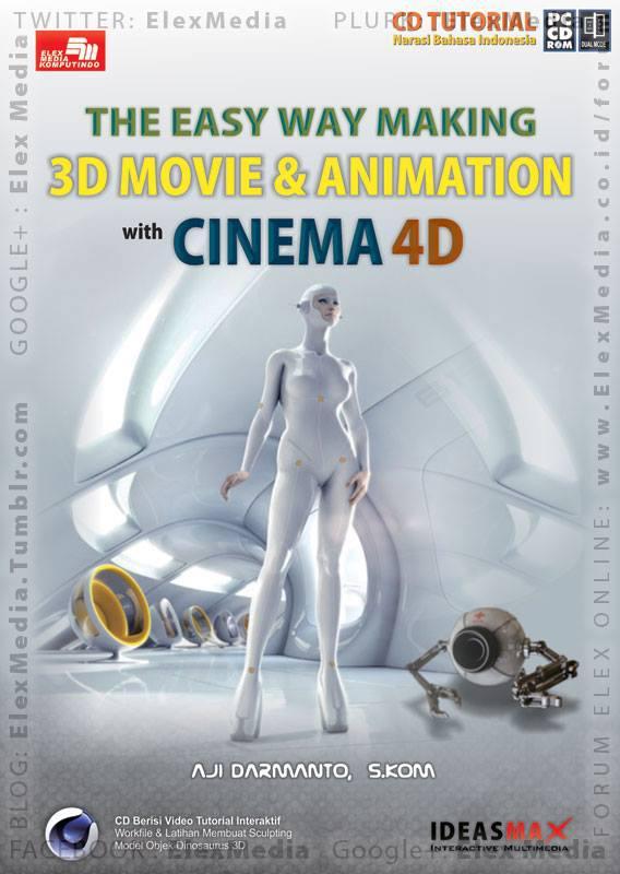 Tutorial aplikasi 3D dgn tips & trik yg Anda perlukan utk langsung memulai proyek 3D Anda! CBT THE EASY WAY MAKING 3D MOVIE & ANIMATION WITH CINEMA 4D http://ow.ly/mfyEk Harga: Rp. 55.000