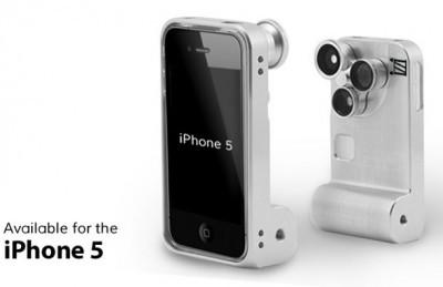 iZZi Orbit Case, Casing iPhone 5 dengan 3 Lensa