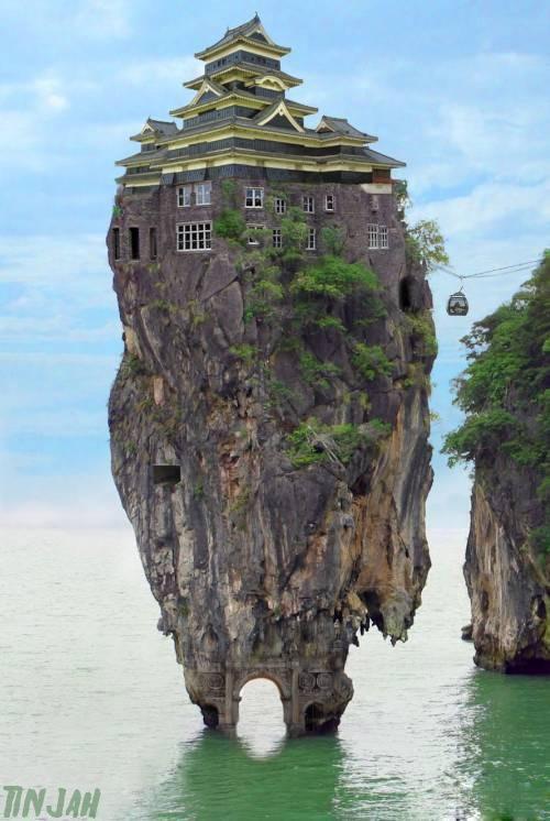 rumah ini aneh tapi nyata ... wow ...