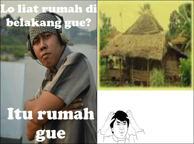 Hahaha.... Buat meme dengan karakter RICHMAN ( Orang Kaya ) kok malah Jadi Gini.. #TOLOL