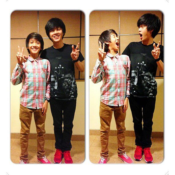 mirip gg nih..!!! iqbal coboy junior sama Bisma smash