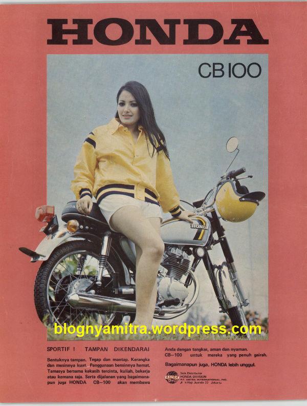 Ini dia Iklan Honda CB100 jadul...! Pilih mana motor apa ceweknya.....?