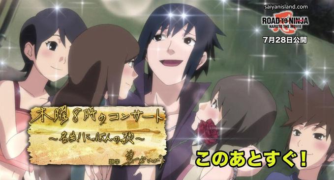 ternyata uchiha sasuke playboy banget (naruto shippuden the movie 6:road to ninja)