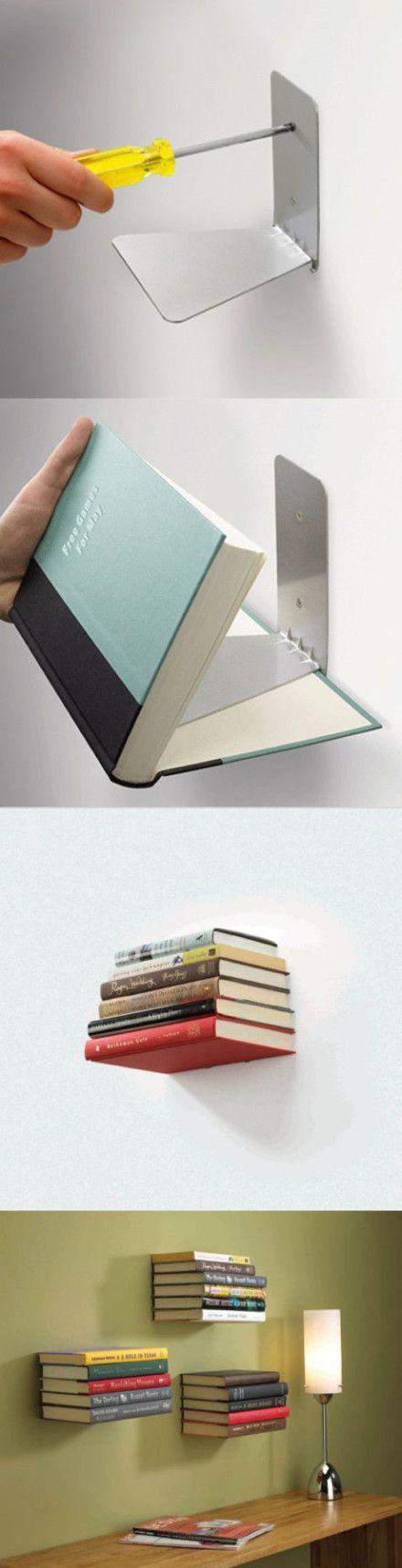 Rak buku yang simple dan unik