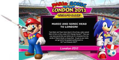 Mario & Sonic Bertarung di London!! Saatnya have fun dengan kompetisi olahraga di mana setelah mengikuti olimpiade Beijing, kini gank Mario dan Sonic beradu keterampilan di London!! Fitur four-player play masih dipertahankan, juga beberapa cab