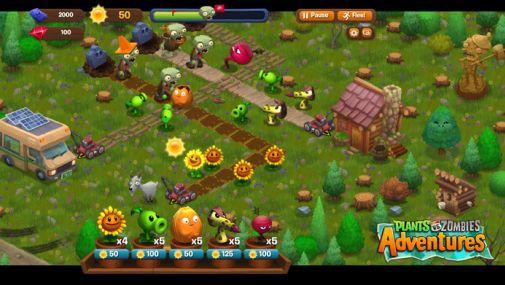 ini game plants vs zhombhie adventure loh :) siapa yg belum nyoba ? ayooo buruan play game ini seu imut juga :D