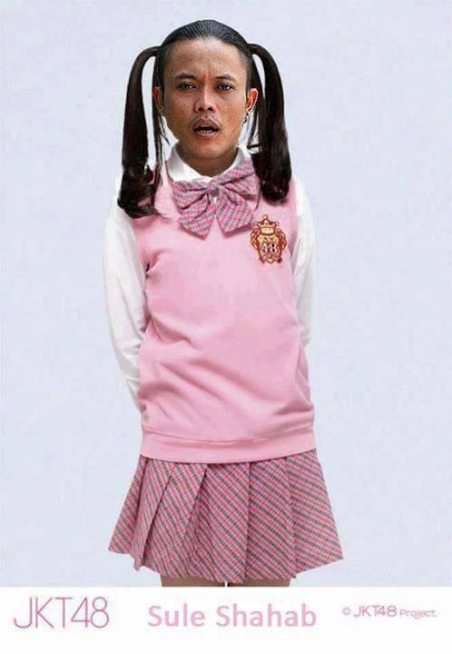 Setuju ngga kalo Sule jdi anggota JKT48?? Just for Fun =D