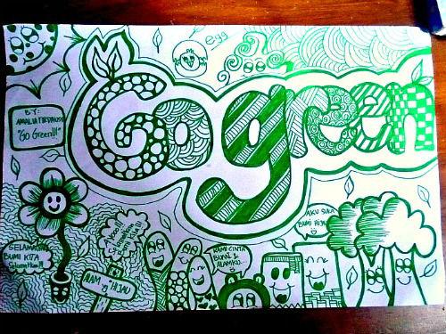 GO GREEN!! ayo kita hijaukan Bumi kita!