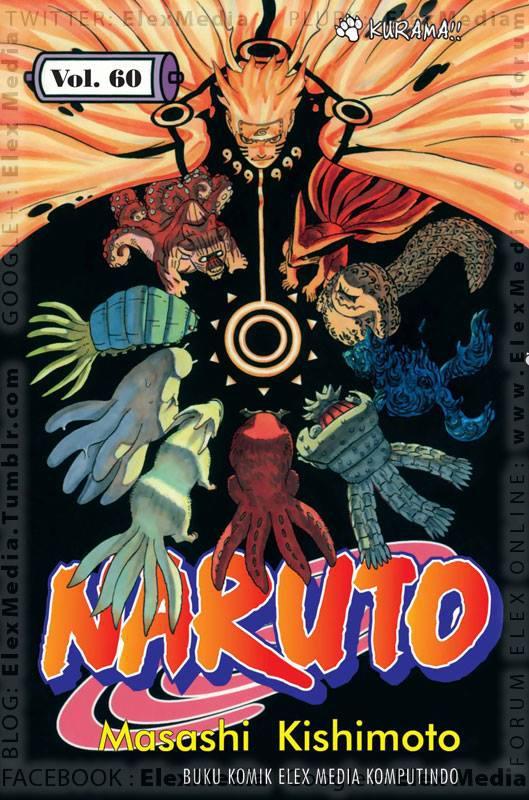 Inilah salah satu seri komik terlaris yg paling ditunggu-tunggu!! Akhirnya Naruto bertemu wujud asli biju di dlm perut Yonbi! NARUTO vol. 60 http://ow.ly/mjMTC Harga: Rp. 17.500