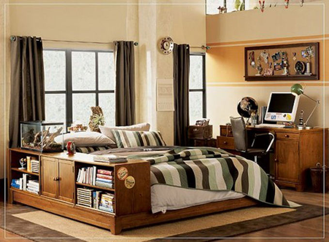 boys small bedroom decorating ideas :)