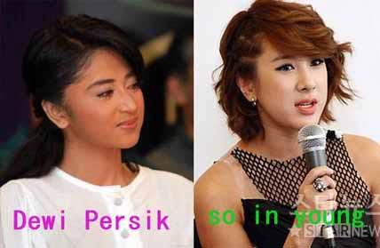 gann,,kembaran dewi persik orang korea!!kembaran atau plagiat ya...???mnrt kalian gmn niii....???WWOOOWWW....