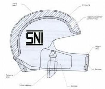 Dilansir dari beberapa sumber, berikut cara tepat memilih helm berlabel SNI asli: 1. Pilih yang bermerek 2. Perhatikan harganya 3. Perhatikan komponen helm 4. Label SNI cetak timbul