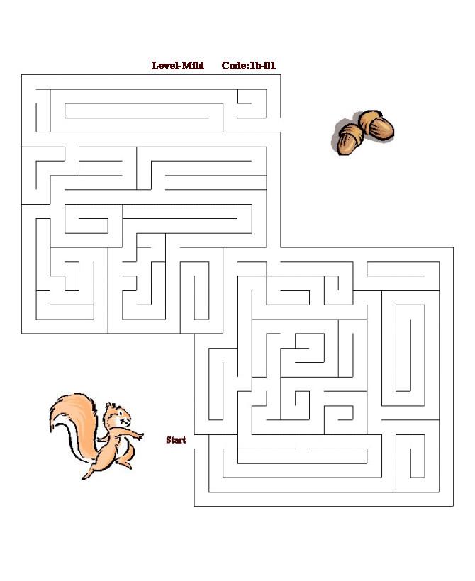 Ini maze.. super easy !! Kalau di perhatikan jalannya ;)