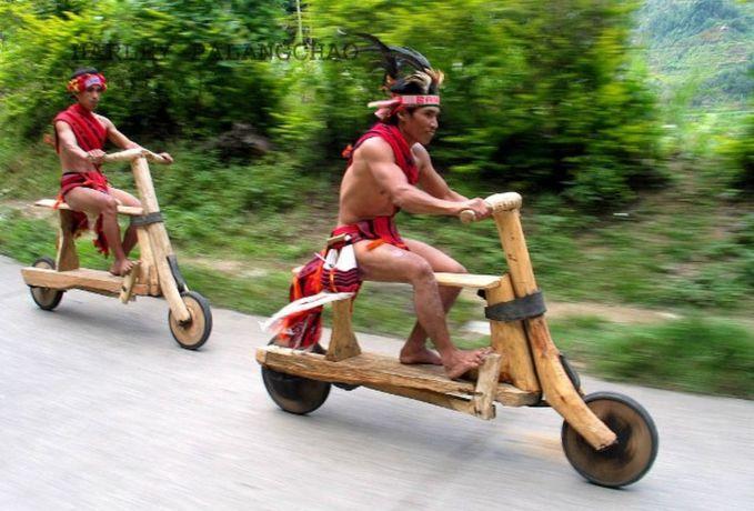 Siapa yang brani balap sama sepeda motor ini?? FU kalah nih kayaknya WOWnya dong