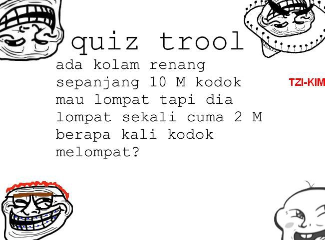 trool quiz