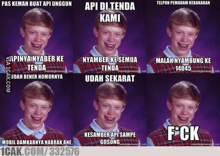 Bad luck kemah