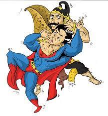 Gatot Kaca Vs Superman. mana pilihan kalian ?,pastinya gatot kaca kan ?,yang setuju di klik Wow + komen. yaa...... WE LOVE INDONESIA !!!!