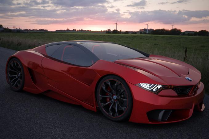 Supersleek BMW Concept.. gahar coy...