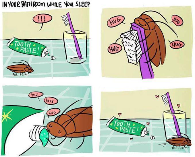 Ada Yang Ga Mau Gosok Gigi Gara Lihat Ini Hahaha