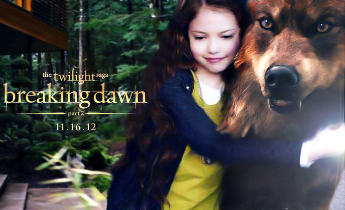 Renesmee Love Jacob Breaking Dawn Part II
