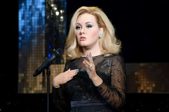 Patung Lilin Adele Terdapat Di Madame Tussaudh ! Rusia ! unik Ya , Like Wow Dong !!