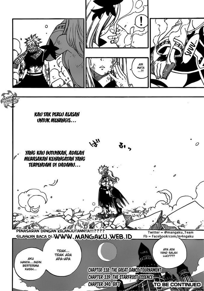 nalu momen again fairy tail manga chapter episode 337 . 3 episode lagi yaitu 338,339,340 fairy tail akan tamat . somoga ada fairy tail season 2