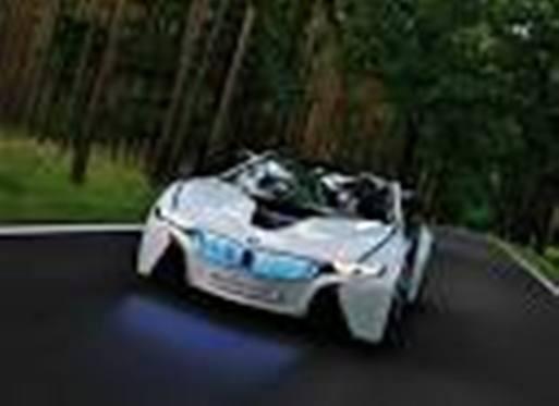 BMW Vision Efficient Dynamics Concept . Klik WOW yaa..