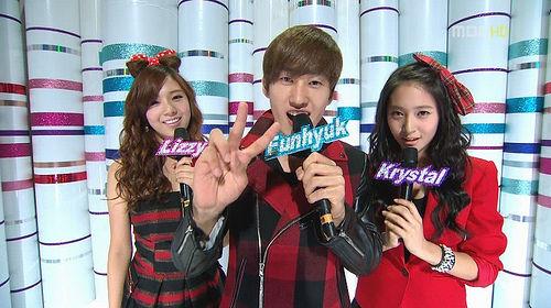 Lizzy After School,Eunhyuk SuJu,Krystal F(X) mana wow nya???