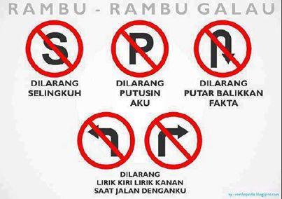 """Ini Adalah Rambu-Rambu Galau...Hahahahaha Tolong tekan """"WOW"""""""