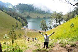 Tanjakan Cinta , Ranu Kumbolo - Wisata Gunung Semeru